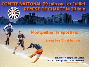 CN Montpellier – Remise de Charte TR348 Montpellier-Lattes (29/30 Juin et 1er Juillet)