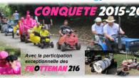 Pour la CONQUETE 2015, rejoignez-nous au «Salon de la Table Ronde Française», le Village des tentes du Festival Roues Libres, mais pas que ! Les informations et le règlement, c'est ici Mais quand ? Le 19 Septembre 2015 à TOULOUSE […]